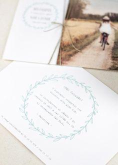 "Invitación de boda ""Love Fields"" - PPStudio Place Cards, Place Card Holders, Weddings, Love, Wedding Invitations, Photos, Amor, Mariage, Wedding"