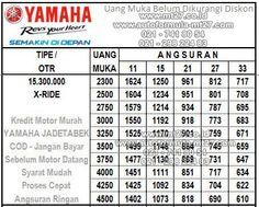 Adira Finance - Kredit Motor Yamaha - Price List - Daftar Harga - Tabel Angsuran Cicilan   Auto Formula MT27 Pinjaman Kredit Motor dan Mobil Murah