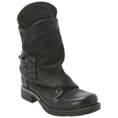 A.S.98 Women's 717208 Black Ankle Boot | Infinity Shoes