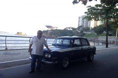 Najstarszą brazylijską taksówką w 2015 roku był ten czterodrzwiowy Volkswagen 1600 Sedan z 1969 roku (typ 3) z miasta Niterój. Ten VW, to jeden z krótkiej serii takich aut produkowanych w Brazylii w latach 1968-1970. Czy przetrwał, mimo wprowadzenia nowych, lokalnych przepisów ograniczających wiek taksówek?  https://portalniteroinews.wordpress.com/2015/08/page/16/