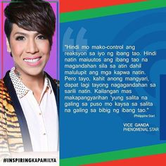 Believe that you are beautiful. Vice Ganda for Vice Ganda, You Are Beautiful, Qoutes, Believe, Cinema, Instagram Posts, Life, Twitter, You're Beautiful