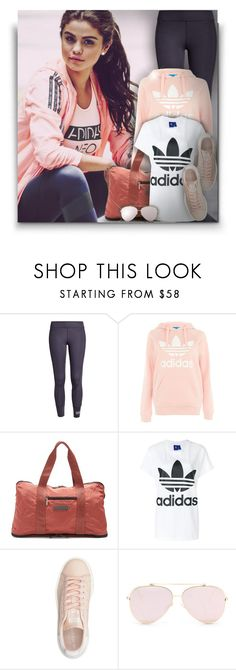 """""""Selena Gomez for Adidas!"""" by asia-12 ❤ liked on Polyvore featuring adidas NEO, adidas and adidas Originals"""