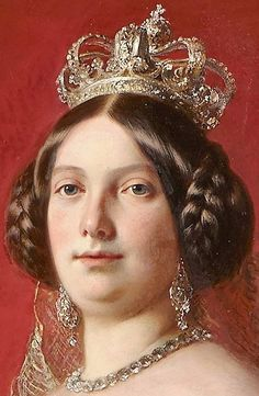 Isabella II, Queen of Spain by Franz Xavier Winterhalter, 1852