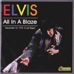 Rare Elvis Import CD'All in a Blaze'