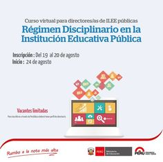 Teresa Clotilde Ojeda Sánchez: Curso Virtual Régimen Disciplinario en la Instituc...