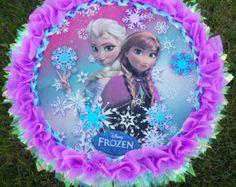 piñata congelada, congelado, fiesta congelado, congelado decoración de cumpleaños, piñata personalizada congelado, piñata