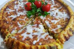 patatesli kolay tart Cute Food, Yummy Food, Turkish Kitchen, Pasta, Potato Dishes, Turkish Recipes, Kitchen Art, Vegetable Pizza, Breakfast Recipes