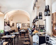 Restaurant in Graz: der Steirer Tapas, Restaurants, Coffee To Go, Coffee Shop, Hotels, Das Hotel, Cool Bars, Plan Your Trip, Great View