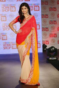 Shilpa Shetty launches her sari range