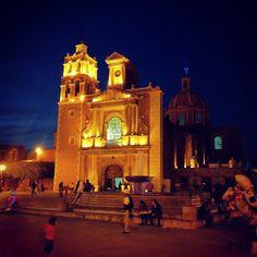 Iglesia de la Asunción, Tequisquiapan by Bartospuntocom, via Flickr