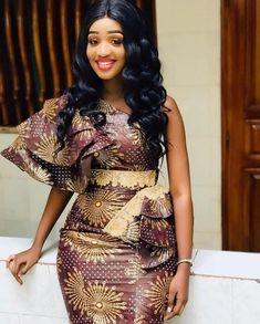 african attire for kids & african attire African Dresses For Kids, African Wear Dresses, Latest African Fashion Dresses, African Print Fashion, African Clothes, Ankara Dress Designs, African Print Dress Designs, African Wedding Attire, African Attire