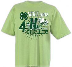 9f99f138 4-H Club Design » SP2988 4-H Milking Cow Club. 4 H ClubClub DesignMy DesignClub  ShirtsMens TopsT ...