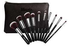BEETLA Makeup Brush Set  Foundation Kabuki Powder Blush Concealer Kit  Premium Synthetic Bristles  10 Piece Collection With Eye and Face Brushes ** You can get more details by clicking on the image.