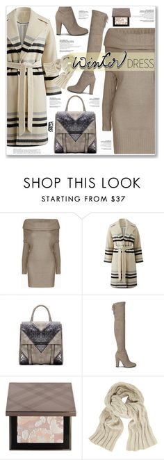 """LOVE YOINS"" by nanawidia ❤ liked on Polyvore featuring Helene Berman, Burberry and John Lewis"