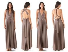 how to wrap an infinity dress - Google Search