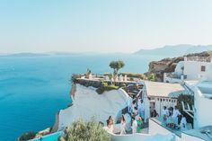 Sun-Soaked Santorini Wedding