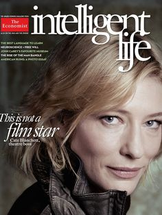 Now THIS is inspiring (and refreshing) - Cate Blanchett with no Photoshop. Lovely to see what her skin actually looks like.  I think SK-II should show her like this in their ads