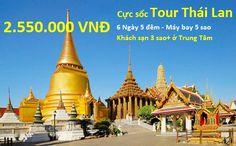 Du lịch Thái Lan giá rẻ nhất 2,550,000/khách, tết Âm lịch 4tr900/khách. tour 5 ngày 4 đêm, khởi hành mỗi ngày. Click vào liên kết để biết thêm chi tiết.