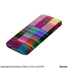 Samsung Colored Stucco Tiles Case For Galaxy S5