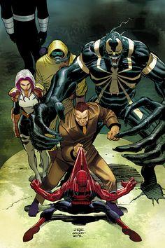 Spider-Man vs Thunderbolts by John Romita Jr