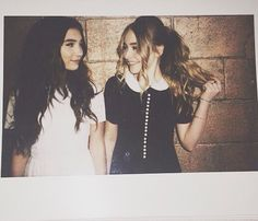 Rowan Blanchard and Sabrina Carpenter don't just play best friends on the hit show, Girl Meets World, but these co-stars actually are besties...
