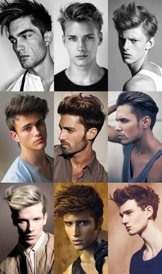 Not So Slick - opting for more texture on top is the alternative to the new slick side parting