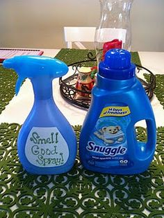 Make your own Fabric Refresher- like Febreze