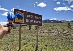 My Troll drove the Chief Joseph Highway