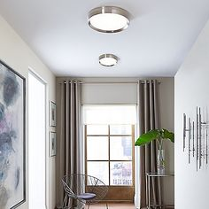 hallway ceiling lights ceiling lights can be stunning too hallway ceiling lights hallway lighting room lights Hallway Ceiling Lights, Low Ceiling Lighting, Hallway Lighting, Bedroom Ceiling, Room Lights, Home Lighting, Lighting Ideas, Ceiling Lamps, Sloped Ceiling