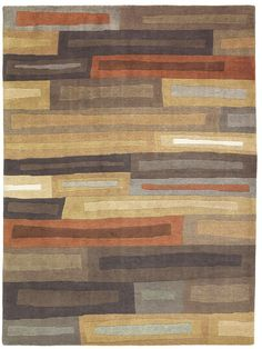Kodari Bricks 99705 Hand Knotted Rug from the Tibetan Rugs collection at Modern Area Rugs
