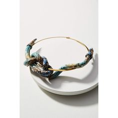 Nora Lozza Snake-Printed Leather Knot Necklace (1.030 DKK) ❤ liked on Polyvore featuring jewelry, necklaces, blue, genuine leather necklace, handcrafted jewellery, blue necklace, hand crafted jewelry and snake necklaces
