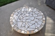 Lisa's Scribbles » Blog Archive From the scrap pile - Small Tiled Table - Lisa's Scribbles
