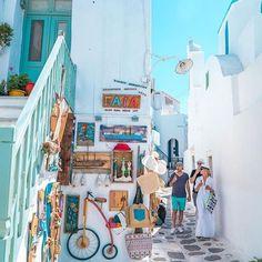 Naoussa, Paros Photo by @mihail_v #greecebygreeks #paros