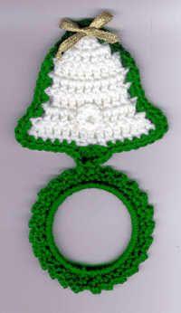 Crochet Patterns - Crochet Kitchen Patterns - Crochet Towel Topper ...