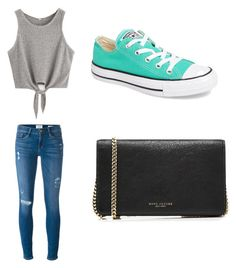 """Untitled #38"" by zain-mjalli on Polyvore featuring Frame, Marc Jacobs and Converse"
