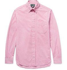 Gitman Vintage - Button-Down Collar Cotton Oxford Shirt