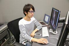白服さん、今日も編集頑張っています!#musumen  むすめん。 YouTube Space Tokyo