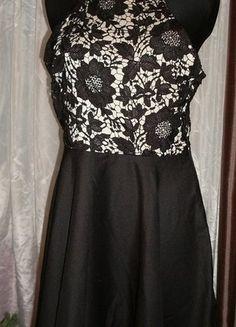 Kup mój przedmiot na #vintedpl http://www.vinted.pl/damska-odziez/krotkie-sukienki/16310659-sukienka-mini-z-koronka-wesele-studniowka-laceminidress