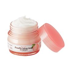 SKINFOOD Premium Peach Cotton Cream - Strawberrycoco