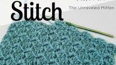 Tulip Stitch: A Free Crochet Tutorial