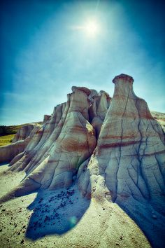 These are the badlands in Medora in North Dakota at the Theodore Roosevelt National Park. My family and I went here to se the Medora Musical. We also went on a trail ride through the bad lands, we saw many things like wild buffalo, wild horses, and a bunch of different plants .