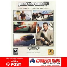 Xbox 360 Grand Theft Auto V GTA 5 Special Edition DLC Code - INSTANT DELIVERY
