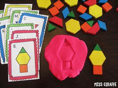 Miss Giraffe's Class: Composing Shapes in 1st Grade