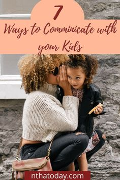 Communication with your children can be easier if you know how to effectively engage in open and honest conversation. Children have their personality and way of communication. As parents, you may find yourself at constant loggerheads with your child. Whether it's your two-year-old, 9-year-old or 15-year-old. The level of communication changes at every stage of child development. You as a parent will also need to adapt to those developmental stage's your child goes through and communi Communication Styles, Communication Relationship, Improve Communication, Effective Communication, Trust Yourself, Finding Yourself, Sibling Relationships, Actions Speak Louder, Strong Family