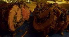 Gordon Ramsay Finished Lamb Roast With Mushroom and Spinach Stuffing Recipe