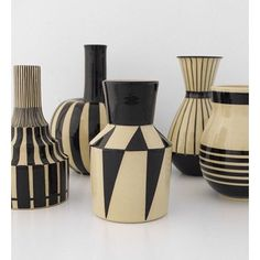 by hedwig bollhagen - rééditions Bauhaus Ceramic Clay, Ceramic Pottery, Pottery Art, Bauhaus, Keramik Design, Keramik Vase, Hedwig, Deco Design, Stoneware