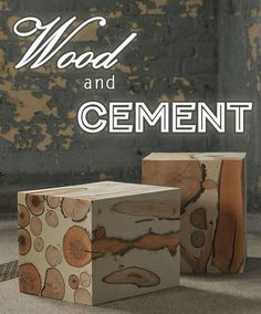 Cemcretology - Cemcrete's blog - Wood and Cement