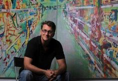 LA Splash:Painter Brendan O'Connell & Everyartist.me Enrich Children's Lives with Art