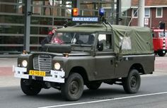 Koninklijke Marechaussee (Royal Dutch Military Police) Land Rover