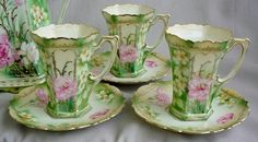 hot chocolate pot and cups set - Google Search